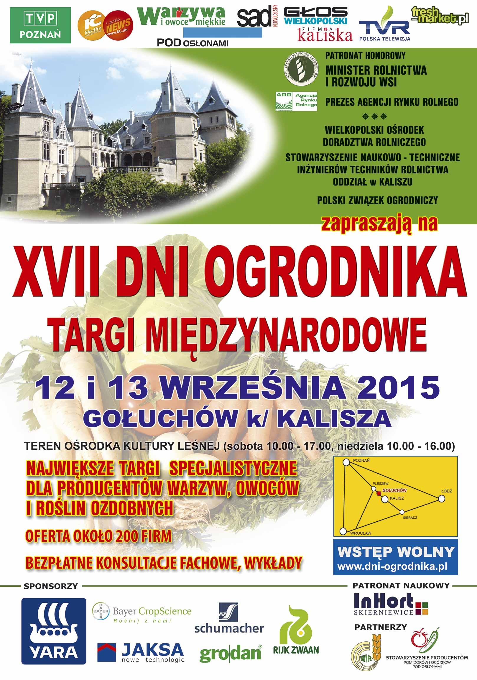 Dni Ogrodnika 2015
